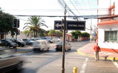 Cambios de tránsito en calles céntricas de La Serena empezarán esta semana