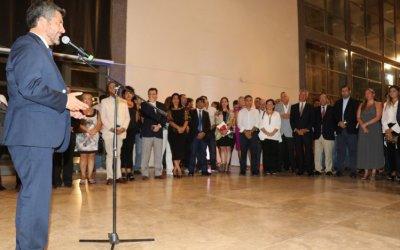 El Intendente de Coquimbo se despidió de los sanjuaninos en la Gala de Sabores