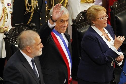 Sebastián Piñera inició su segundo mandato como Presidente