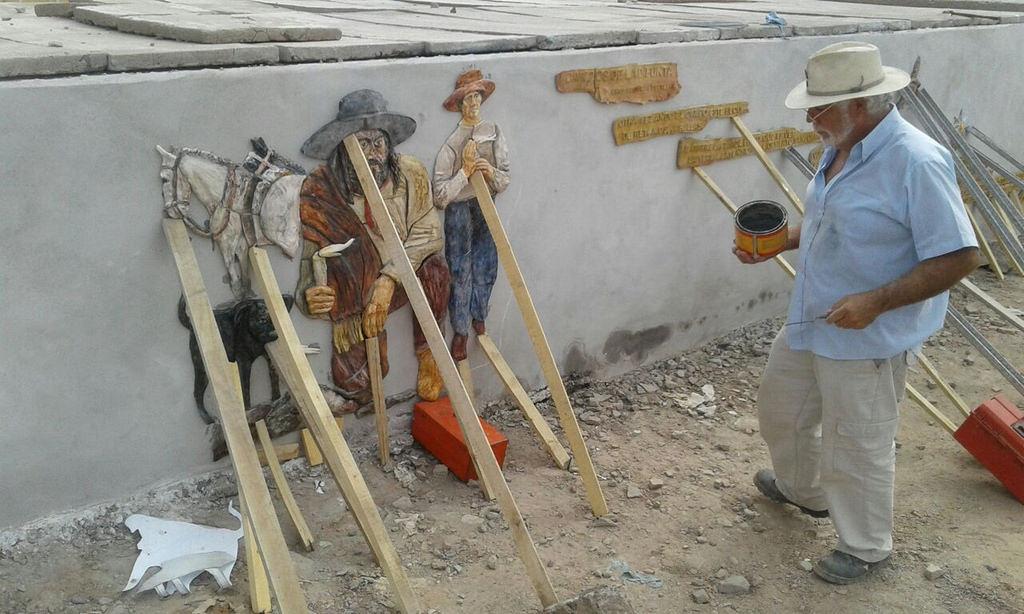 El circuito de murales de la Difunta Correa se terminó con una obra única