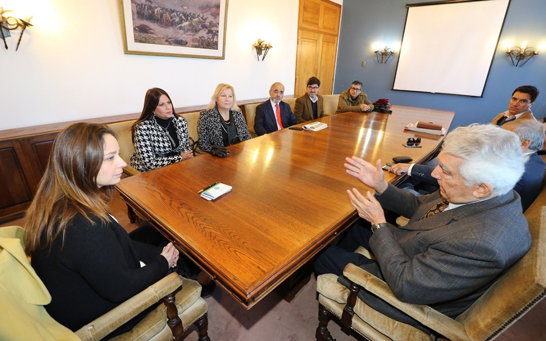 Directivos de CORPAN se reunieron con la Intendenta Lucía Pinto