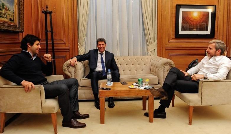 Positivas reuniones de Uñac con tres ministros de la Nación