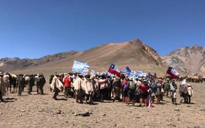 Expedicionarios de Argentina y Chile honraron a San Martín y O'Higgins