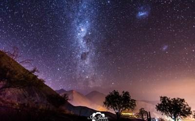 Impresionantes imágenes del cielo de la Región de Coquimbo captadas por un fotógrafo sanjuanino