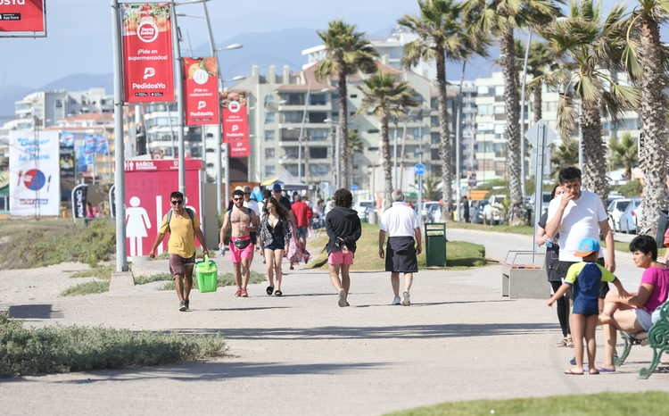 Actividad turística en la región vuelve a caer este verano, respecto al 2018