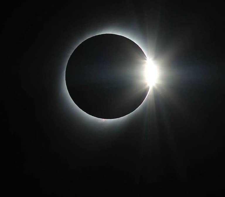 El eclipse total de Sol fue inolvidable en la Región Binacional