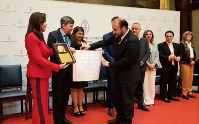 Congreso Argentino distingue a alcalde de Coquimbo por su trabajo por la Integración Binacional