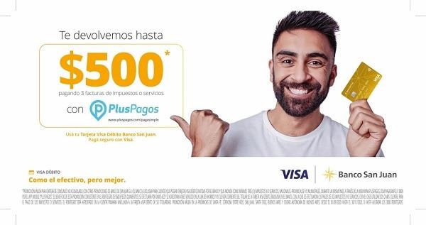 ¡Usá tu tarjeta de débito Banco San Juan con importantes beneficios!