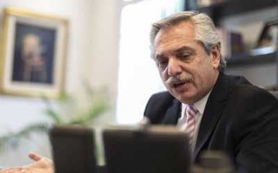 Alberto Fernández conversó con el nuevo presidente del BID