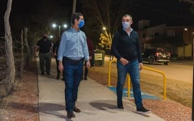 Rivadavia inauguró su nuevo paseo Hipólito Vieytes