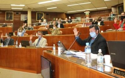 """Aprueban convenio para mejorar el Hospital de Barreal y expropiación para construir el barrio """"El Tambolar"""""""