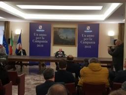 """Conferenza stampa di fine anno, De Luca: """"Parliamo con i fatti. Il 2019 anno del lavoro"""""""