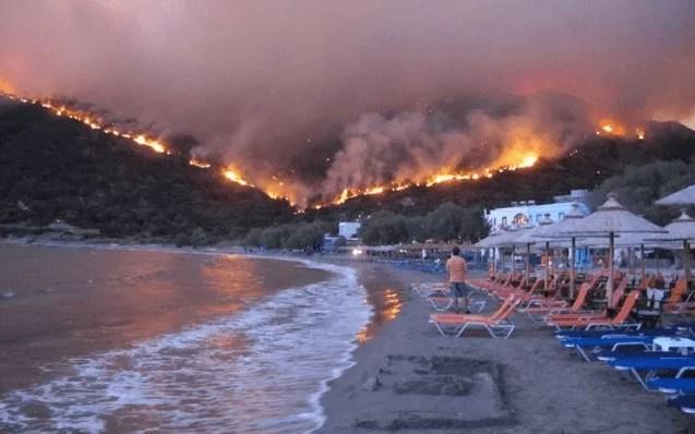 Пожары в Греции: 77 погибших, 178 пострадавших и десятки пропавших без вести – фото, видео