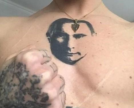 Всесвітньо відомий український танцюрист набив на грудях портрет Путіна – розгорівся скандал
