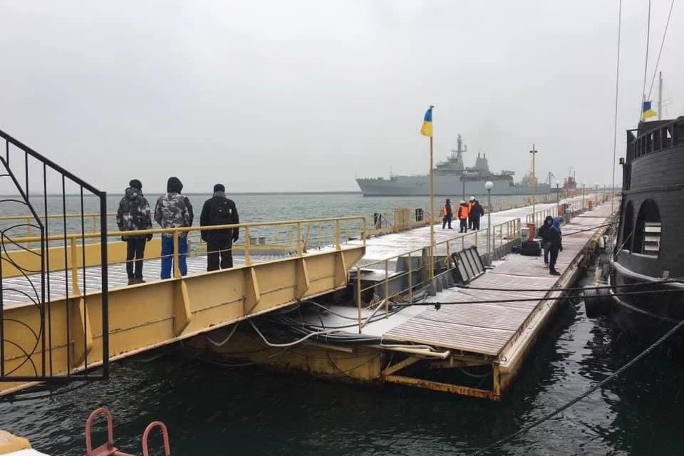 Морська розвідка НАТО пришвартувала корабель в одеському порту – ФОТО