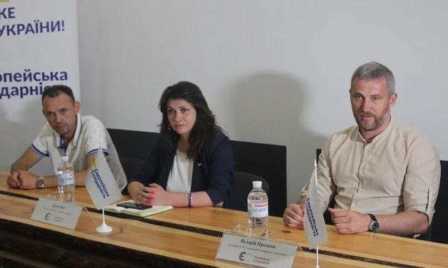 «Європейська солідарність» – єдина політична сила, що заявляє про готовність до боротьби за Україну і її європейське майбутнє – Ірина Фріз
