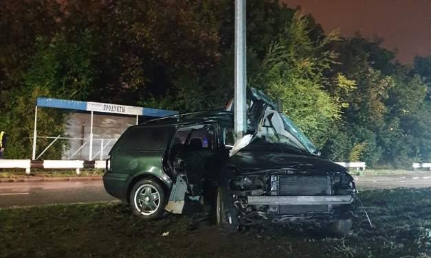 Серйозна аварія в Дніпровському районі Запоріжжя – фото