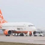 Літак з Уханя приземлився в Борисполі на дозаправку