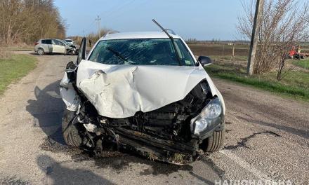 На Запоріжжі трапилася ДТП, пасажир автомобіля не вижив