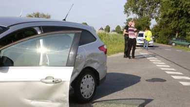 Photo of Auto te water na aanrijding Lutjewinkel