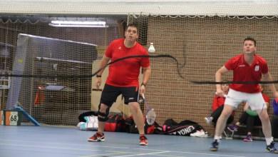 Photo of Badmintonners Zeemacht onderuit in Wormer