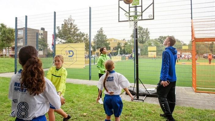 Basketbal als side event (DHfoto)
