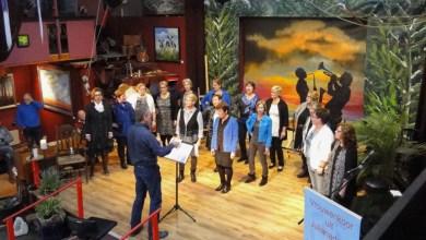 Photo of Zanggroep Eigenwijz in de Schuur van Kees