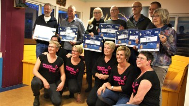 Photo of Hospice Westerland ontvangt bedrag van Walking Wieringen