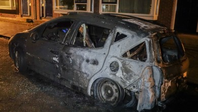 Photo of Auto uitgebrand in De Schooten