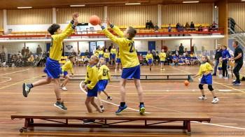 Trefbaltoernooi in de Sporthal Sportlaan (DHfoto)