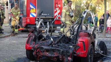 Photo of Auto uitgebrand in Wieringerwaard