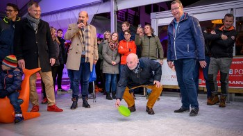 Wethouder Wouters in opperste concentratie (DHfoto)