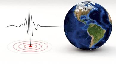 Photo of Aardbeving in bodem onder Noordzee