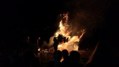 Photo of Mooie kerstbomen verbranding Middenmeer