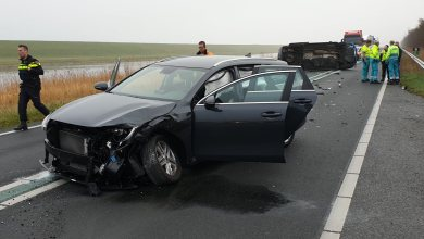 Photo of Auto's botsen op N99