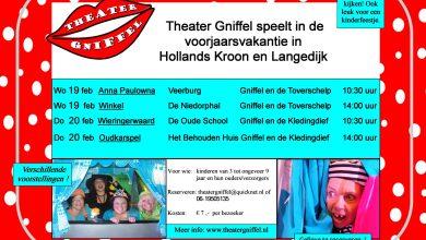 Photo of Kindertheater Gniffel toert rond in Hollands Kroon en Langedijk