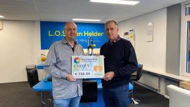 Photo of Uitreiking cheque Voedselbank