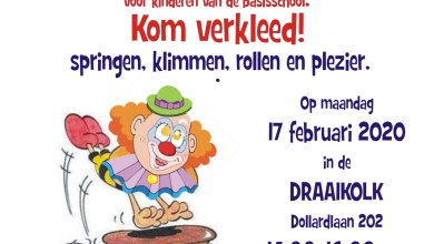 Photo of Sportieve carnaval in De Draaikolk