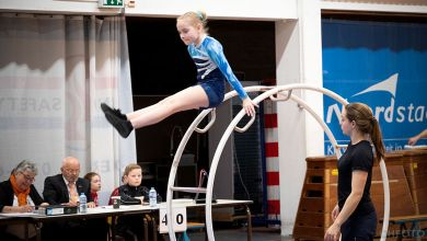 Photo of De Vrij opent districtswedstrijden Röhnradturnen