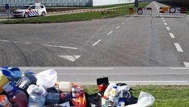 Photo of Flevoweg afgesloten na vondst giftig afval