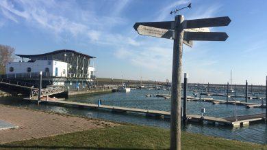 Photo of Tijdelijk geen activiteiten in haven Oudeschild