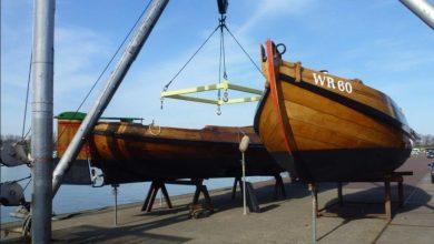 Photo of Onderhoud Skuutje WR60 en Wieringer Aak WR4 deels gereed
