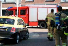 Photo of Penetrante acetongeur uit riolering Jacques Lemairestraat