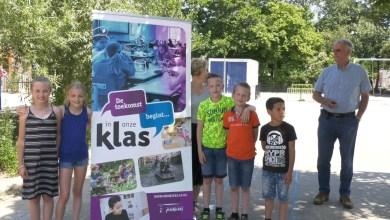 Photo of Kratten vol levensmiddelen voor de Voedselbank (video)