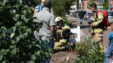 Photo of Gaslek door werkzaamheden in de tuin