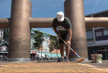 Photo of Opnieuw 3D-streetart in Helderse binnenstad (video)