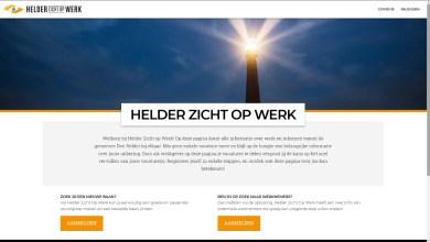 Photo of Website Helder zicht op werk maakt goede start