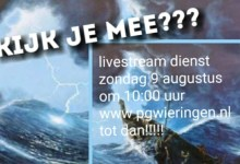 Photo of Livestream van de kerk op Wieringen