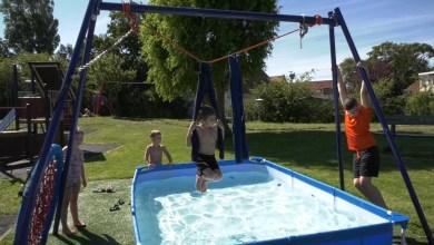 Photo of Dagje waterpret voor jeugd Tuindorp bij Buurthuis Elto (video)