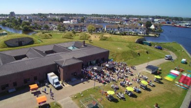 Photo of Drijf-in bioscoop op Fort Westoever